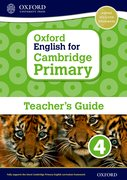 Cover for Oxford English for Cambridge Primary Teacher Book 4