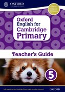 Cover for Oxford English for Cambridge Primary Teacher book 5
