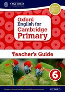 Cover for Oxford English for Cambridge Primary Teacher book 6