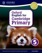 Cover for Oxford English for Cambridge Primary Student Book 5