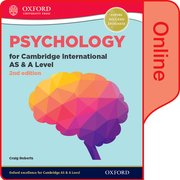 Cover for Psychology for Cambridge International AS and A Level 2nd Edition