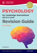 Cover for Psychology for Cambridge International AS and A Level Revision Guide 2nd Edition