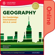 Cover for Geography for Cambridge International AS & A Level
