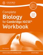 Cover for Complete Biology for Cambridge IGCSERG Workbook