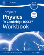 Cover for Complete Physics for Cambridge IGCSERG Workbook
