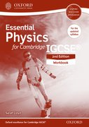 Cover for Essential Physics for Cambridge IGCSERG Workbook