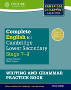 Cover for Complete English for Cambridge Lower Secondary Writing and Grammar Practice Book