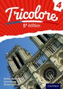 Cover for Tricolore 5e edition Student Book 4