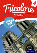 Cover for Tricolore 5e edition Teacher Book 4