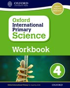 Cover for Oxford International Primary Science Workbook 4
