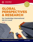 Cover for Global Perspectives and Research for Cambridge International AS & A Level