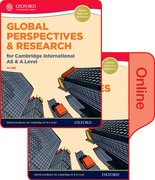 Cover for Global Perspectives and Research for Cambridge International AS & A Level Print & Online Book