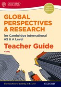 Cover for Global Perspectives for Cambridge International AS & A Level Teacher Guide