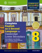 Cover for Complete English as a Second Language for Cambridge Lower Secondary Student Book 8 & CD