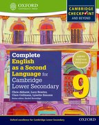 Cover for Complete English as a Second Language for Cambridge Secondary 1 Student Book 9 & CD