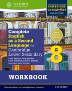 Cover for Complete English as a Second Language for Cambridge Lower Secondary Workbook 8 & CD