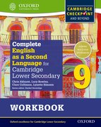 Cover for Complete English as a Second Language for Cambridge Secondary 1 Student Workbook 9 & CD