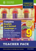 Cover for Complete English as a Second Language for Cambridge Secondary 1 Teacher Pack 9 & CD