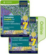 Cover for Complete English for Cambridge Lower Secondary Print and Online Student Book Pack 7