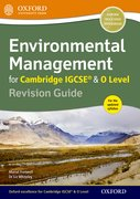 Cover for Environmental Management for Cambridge IGCSERG & O Level Revision Guide