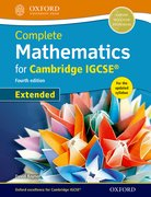 Cover for Complete Mathematics for  Cambridge IGCSERG Student Book (Extended)