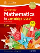 Cover for Complete Mathematics for Cambridge IGCSE Student Book (Core)