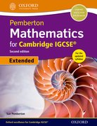 Cover for Pemberton Mathematics for Cambridge IGCSERG Student Book
