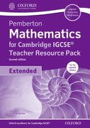Cover for Pemberton Mathematics for Cambridge IGCSE Teacher Resource Pack & CD