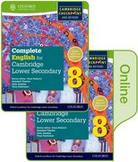 Cover for Complete English for Cambridge Lower Secondary Print and Online Student Book 8