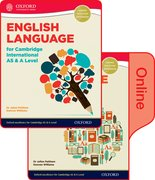 Cover for English Language for Cambridge International AS and A Level Student Book & Token Online Book