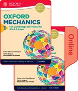 Cover for Mathematics for Cambridge International AS and A Level Mechanics 1