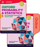 Cover for Mathematics for Cambridge International AS and A Level Statistics 1