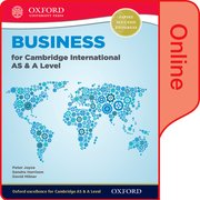 Cover for Business for Cambridge International AS & A Level Online Student Book