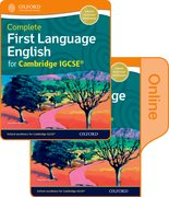 Cover for Complete First Language English for Cambridge IGCSE
