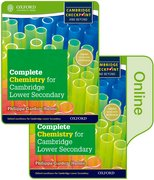 Cover for Complete Chemistry for Cambridge Lower Secondary