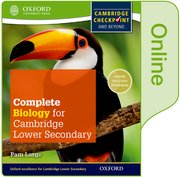 Cover for Complete Biology for Cambridge Secondary 1