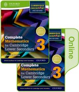 Cover for Complete Mathematics for Cambridge Lower Secondary Book 3