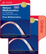 Cover for Nelson Pure Mathematics 2 and 3 for Cambridge International A Level