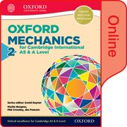 Cover for Mathematics for Cambridge International AS and A Level Mechanics 2