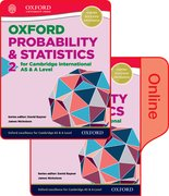 Cover for Mathematics for Cambridge International AS and A Level Probability & Statistics 2