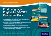Cover for Complete First Language English for IGCSERG Evaluation Pack