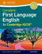 Cover for Complete First Language English for Cambridge IGCSERG