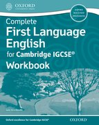 Cover for Complete First Language English for Cambridge IGCSERG Workbook