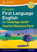 Cover for Complete First Language English for Cambridge IGCSERG Teacher Resource Pack