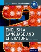 Cover for IB English A Language & Literature: Course Book