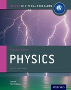 Cover for IB Physics Course Book
