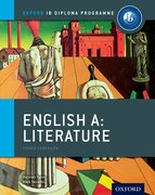 Cover for IB English A Literature: Course Book