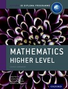 Cover for IB Mathematics Higher Level Course Book