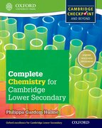 Cover for Complete Chemistry for Cambridge Secondary 1 Student Book