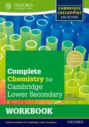 Cover for Complete Chemistry for Cambridge Secondary 1 Workbook